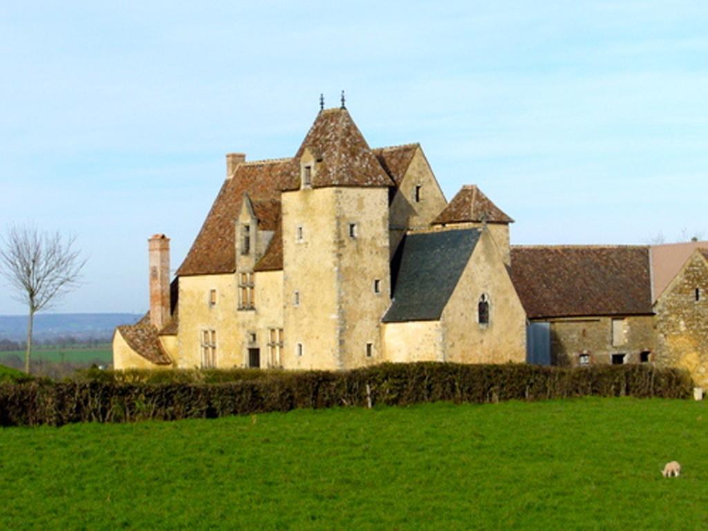 Saint Symphorien - Manoir du Mont Porcher (Source Internet, Ilatou Sarthe)
