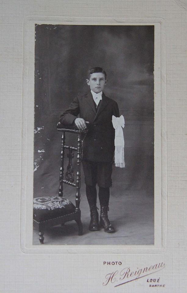 Loué - Communion - LANDAIS François, Stéphane, Louis - Vers 1922 (Sylvie Leveau)