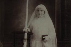 Bonnétable - Communion - DREUX Juliette - Ma grand mère - 1926 (Sylvie Leveau)