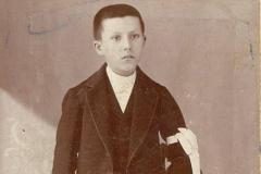 Lieu inconnu - Communion - PIERCON Léon - Mon grand père - Vers 1902 (Françoise Lebreton)