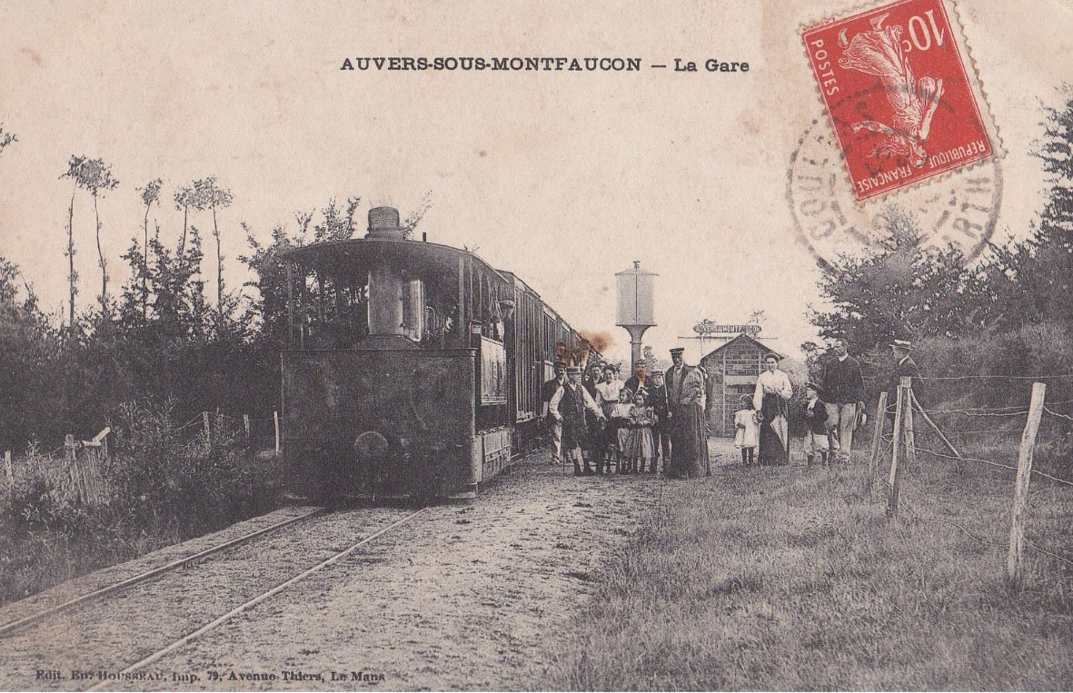 Auvers sous Montfaucon - La Gare 02
