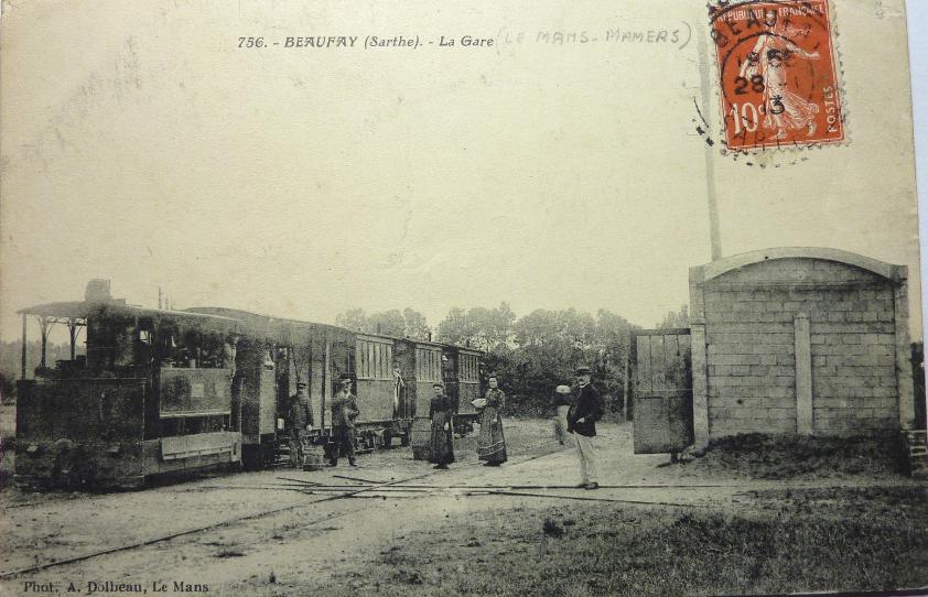 Beaufay - La Gare