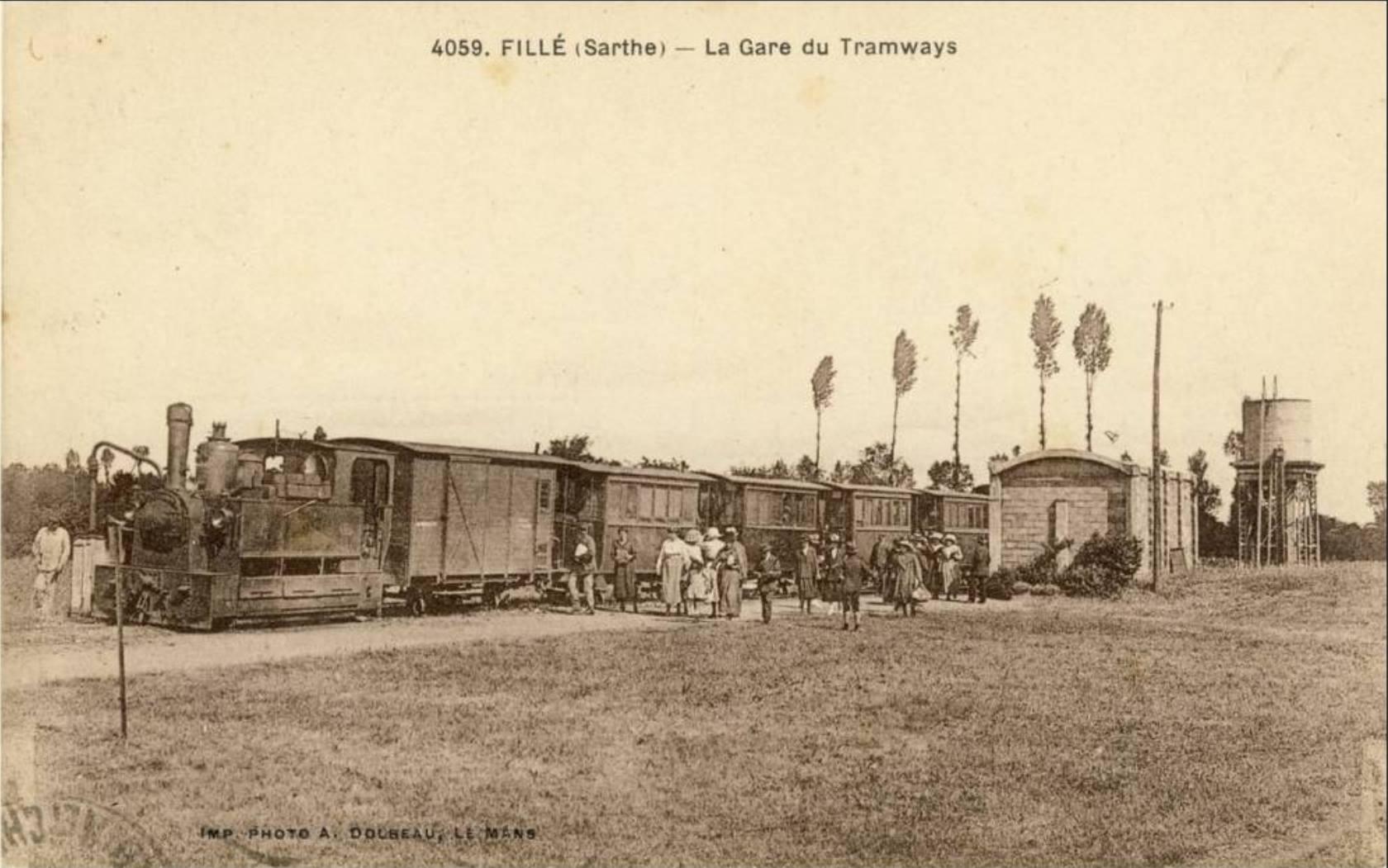 Fillé - La Gare du Tramways