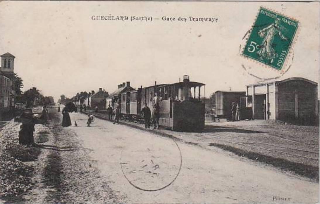 Guécélard - Gare des Tramways