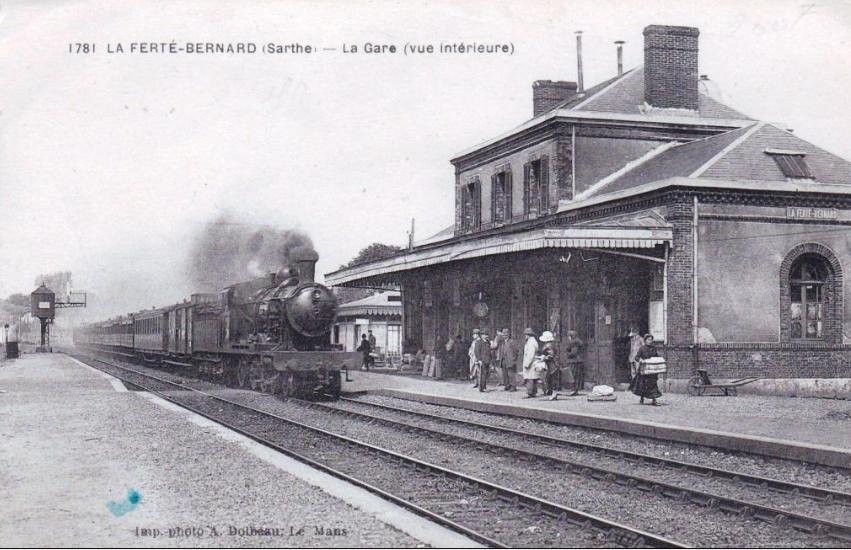 La Ferté Bernard - La Gare (vue intérieure)