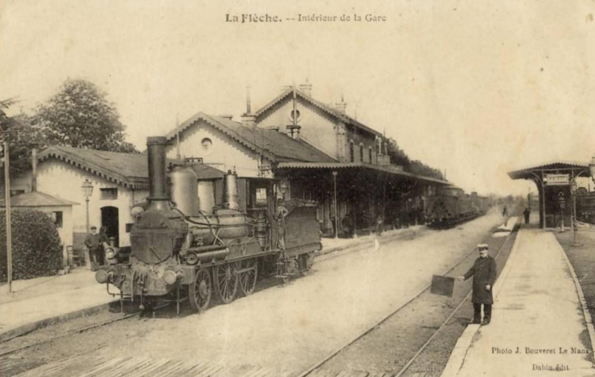 La Flèche - Intérieur de la Gare
