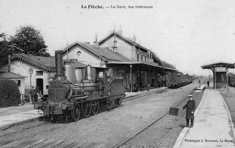 La Flèche - La Gare, vue intérieure