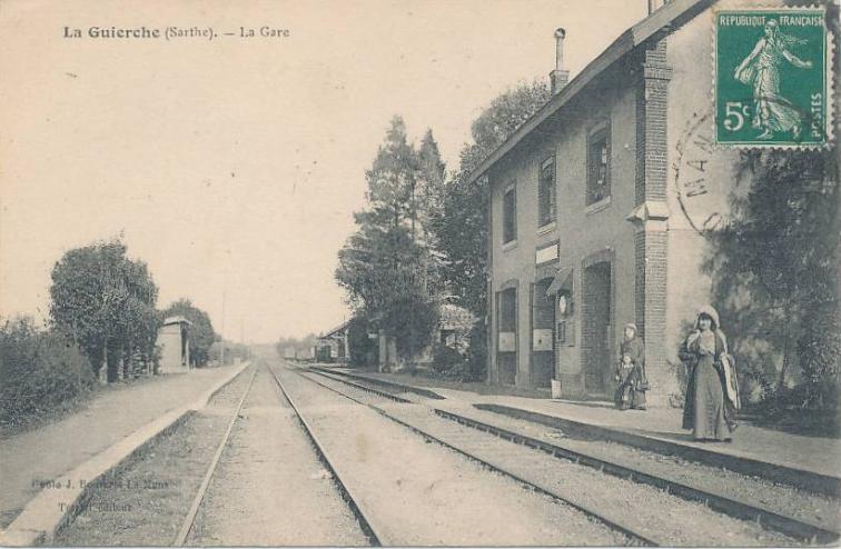 La Guierche - La Gare