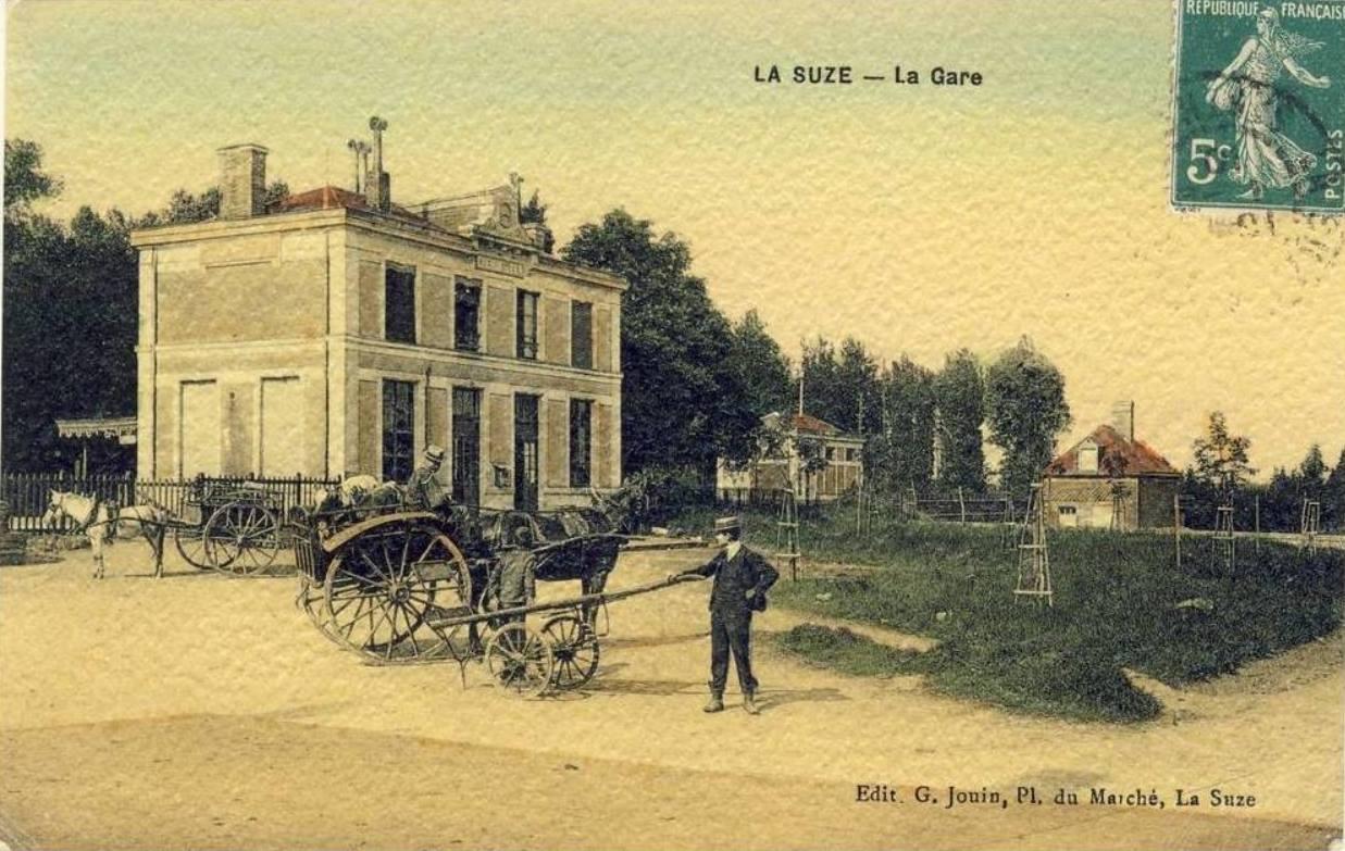 La Suze sur Sarthe - La Gare