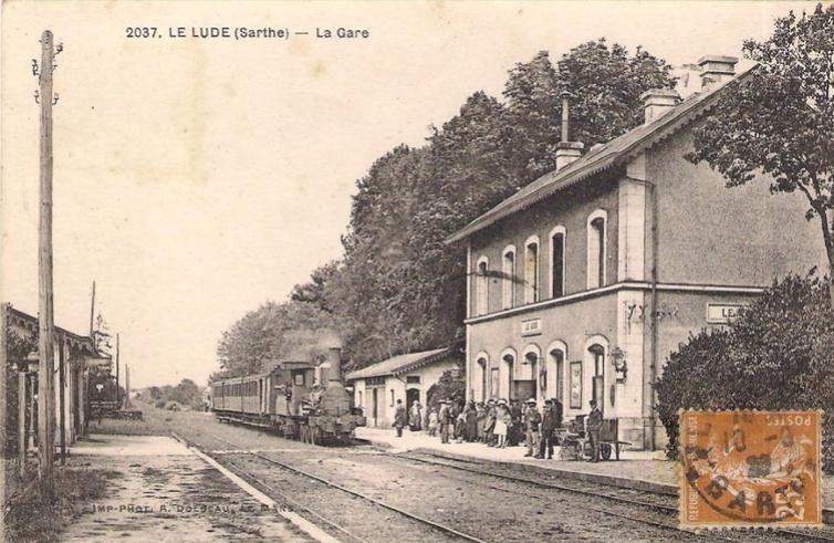 Le Lude - La Gare