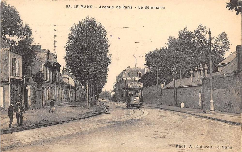 Le Mans - Avenue de Paris - Le Séminaire