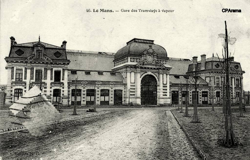 Le Mans - Gare des Tramways à Vapeur