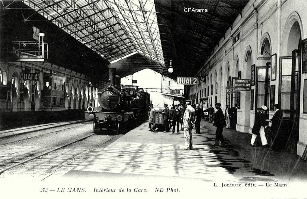 Le Mans - Intérieur de la Gare 02