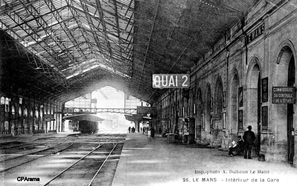 Le Mans - Intérieur de la Gare 03