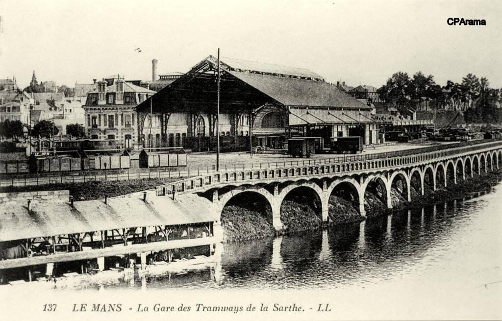 Le Mans - La Gare des Tramways de la Sarthe