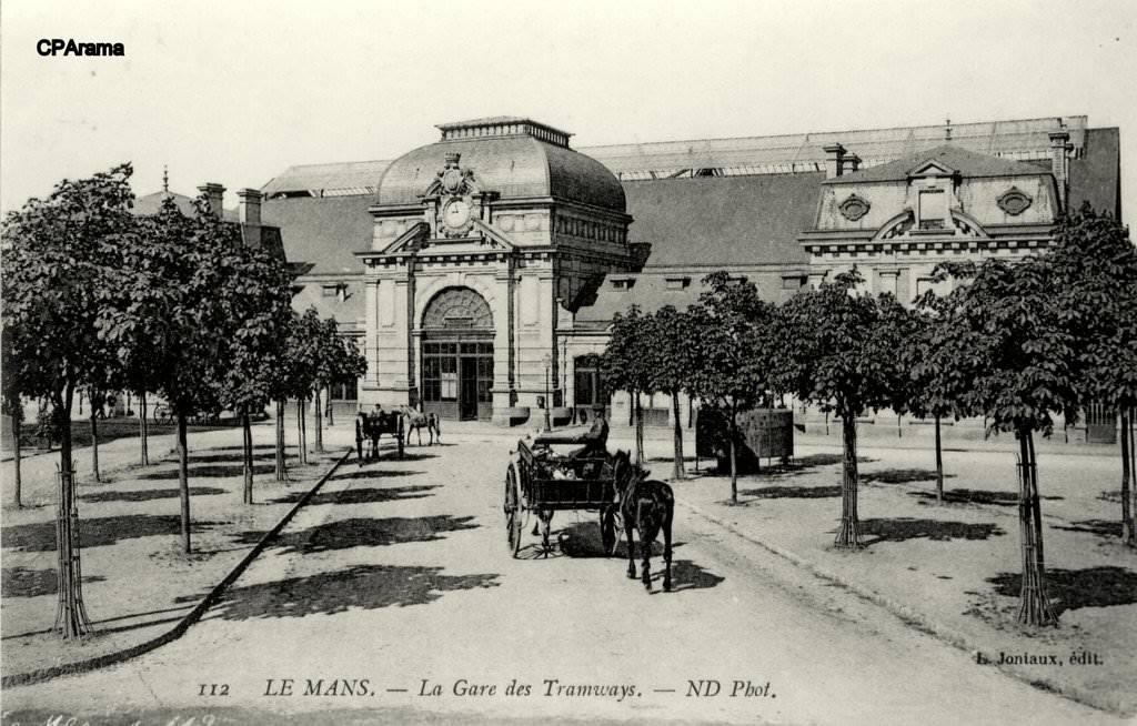 Le Mans - La Gare des Tramways