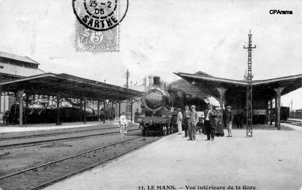 Le Mans - Vue intérieure de la Gare