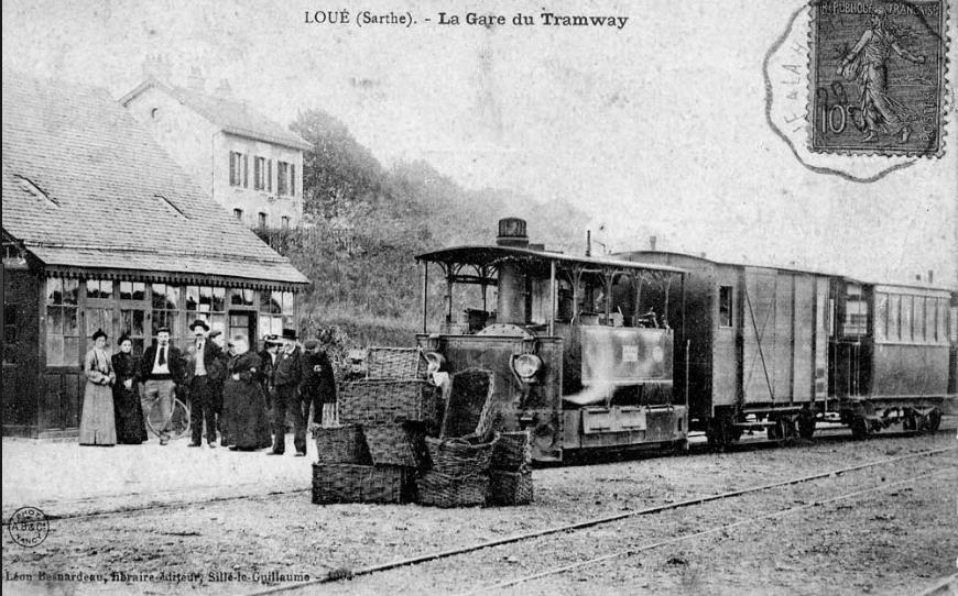 Loué - La Gare du Tramway