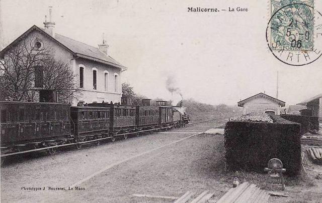 Malicorne sur Sarthe - La Gare