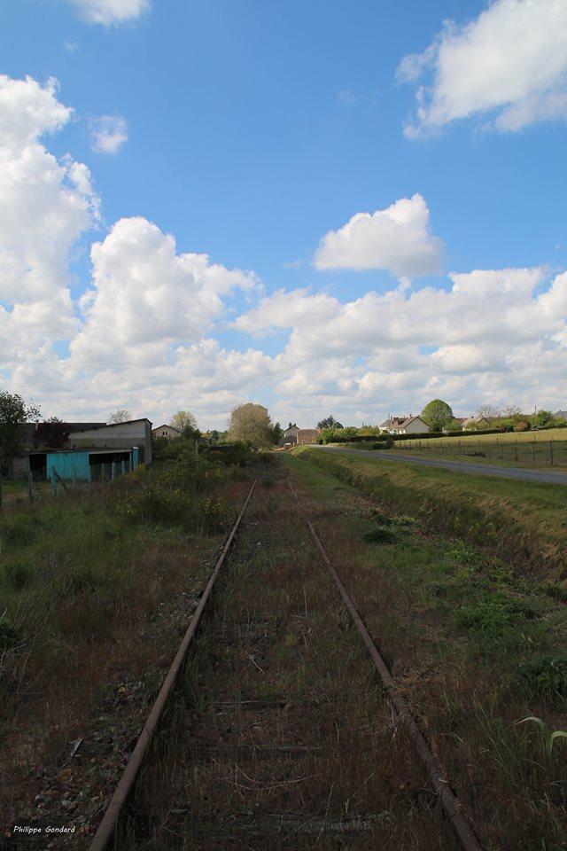 Malicorne sur Sarthe - La voie ferrée (Philippe Gondard)