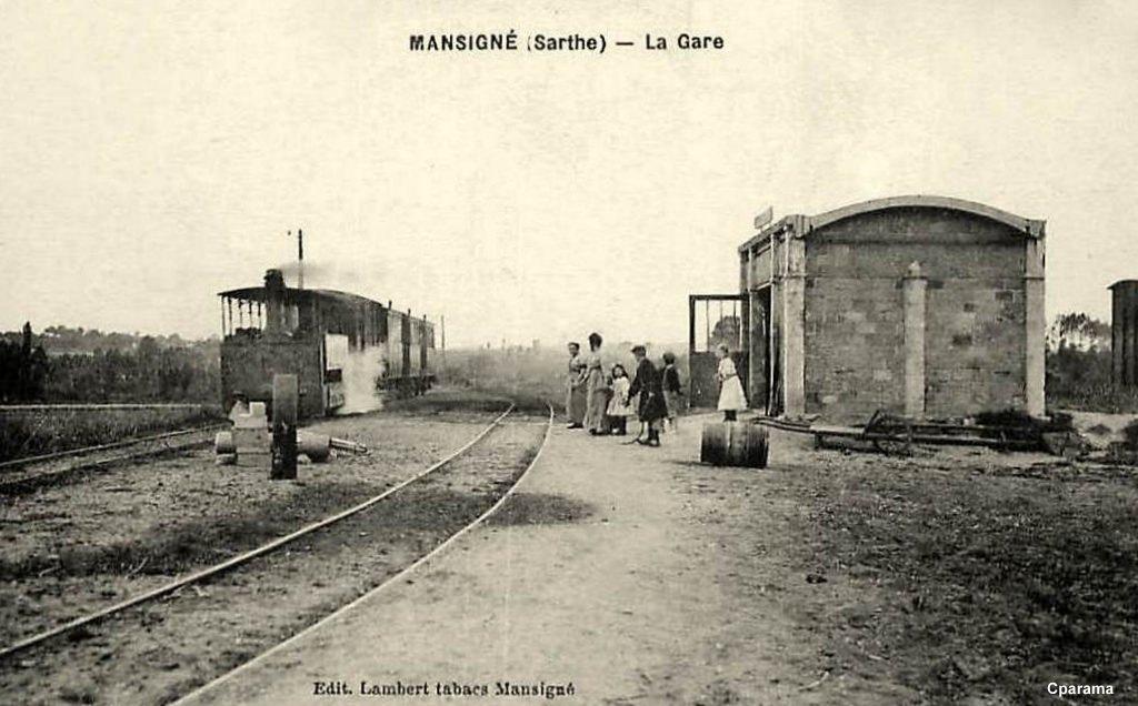 Mansigné - La Gare