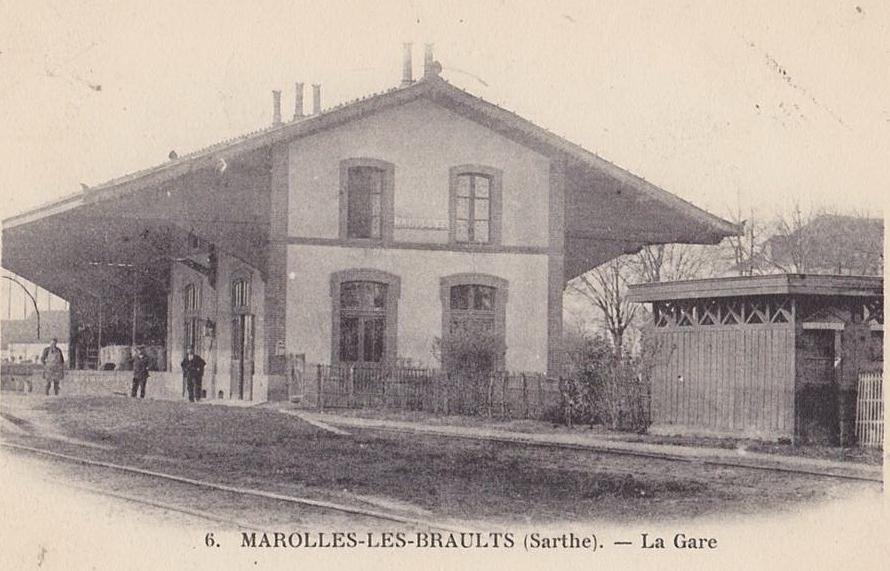 Marolles les Braults - La Gare 01