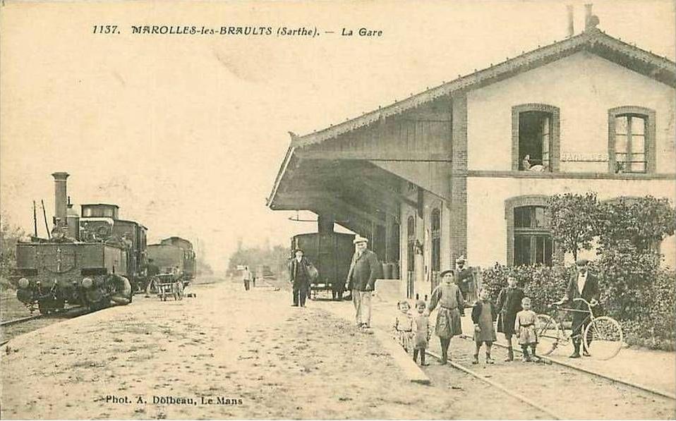 Marolles les Braults - La Gare 02