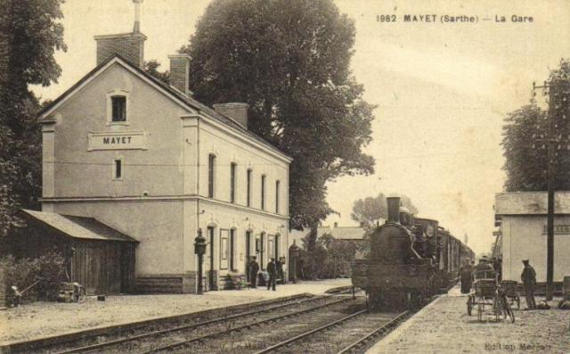 Mayet - La Gare