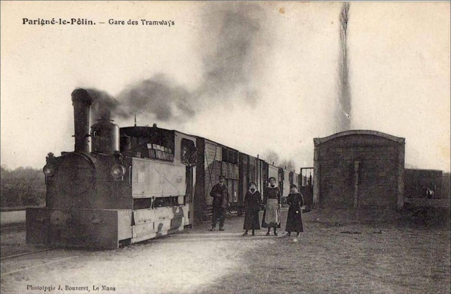 Parigné le Pôlin - Gare des Tramways