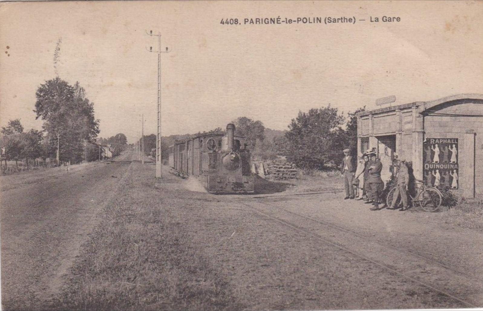 Parigné le Pôlin - La Gare 01