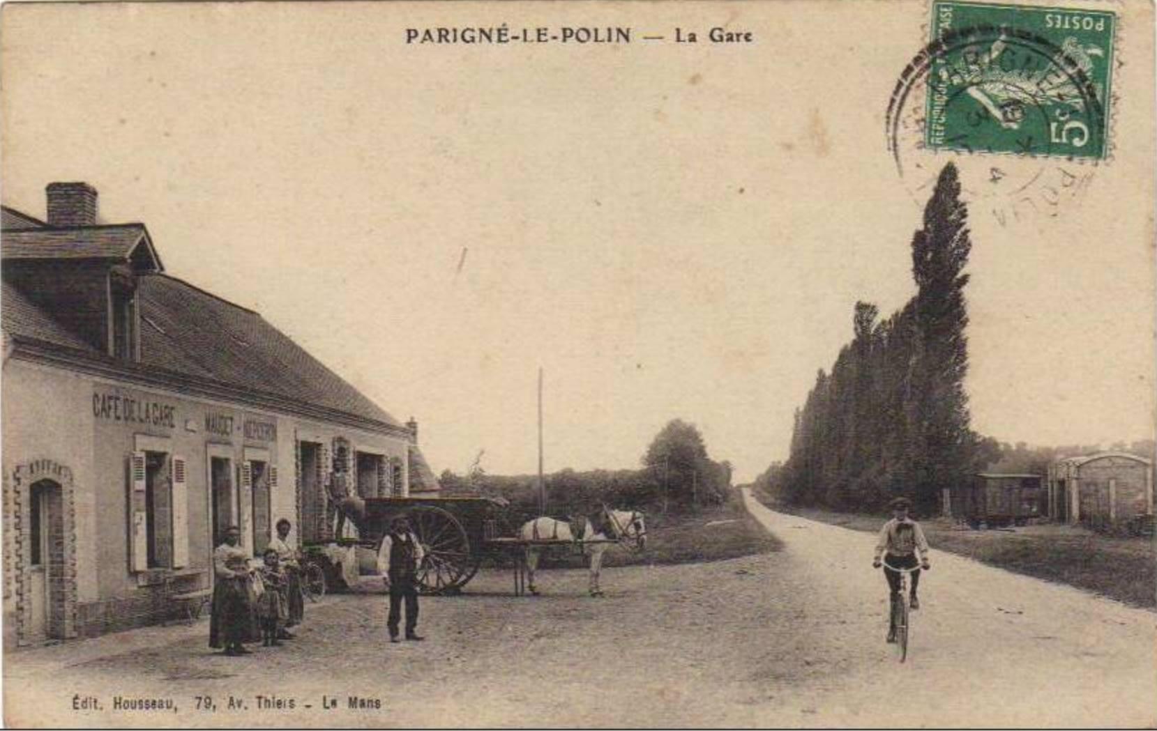 Parigné le Pôlin - La Gare 02