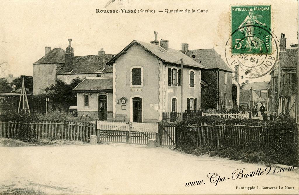 Rouessé Vassé - Quartier de la Gare