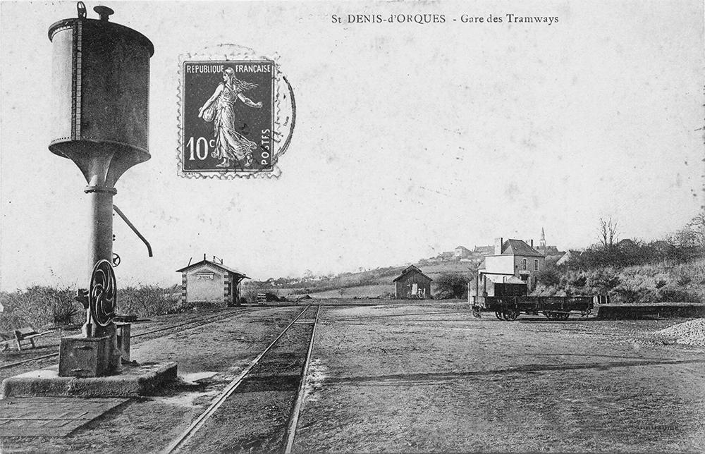 Saint Denis d'Orques - Gare des Tramways