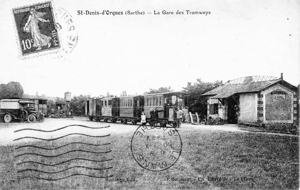 Saint Denis d'Orques - La Gare des Tramways