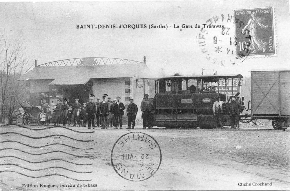 Saint Denis d'Orques - La Gare du Tramway