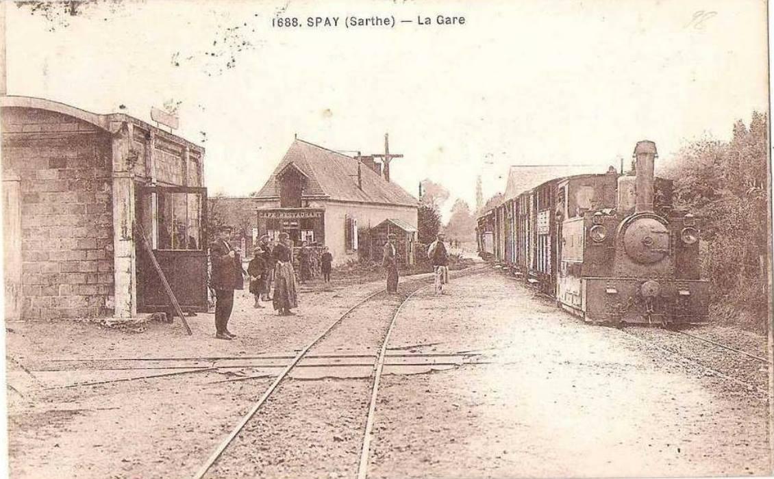 Spay - La Gare