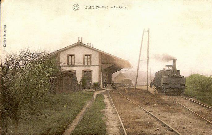 Tuffé - La Gare