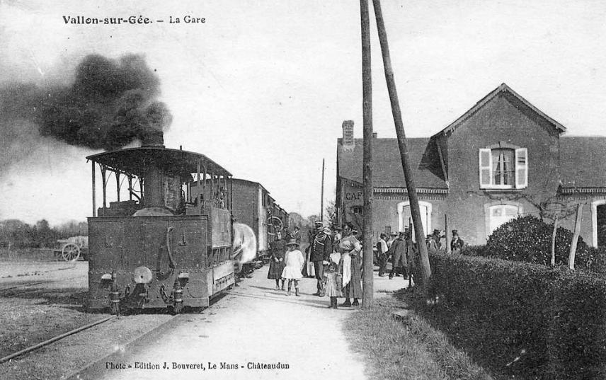 Vallon sur Gée - La Gare