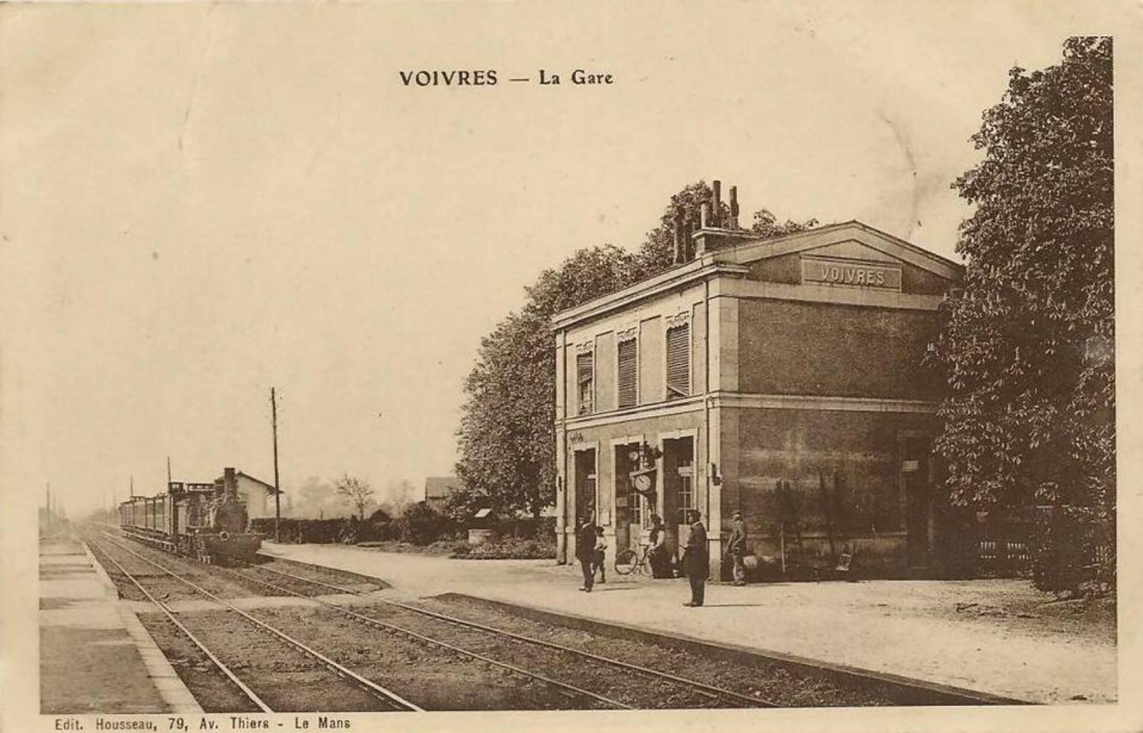 Voivres lès le Mans - La Gare 01