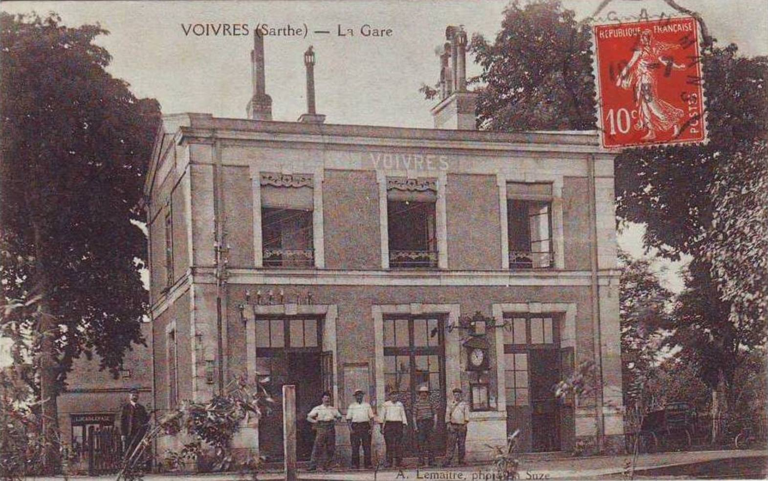 Voivres lès le Mans - La Gare 02