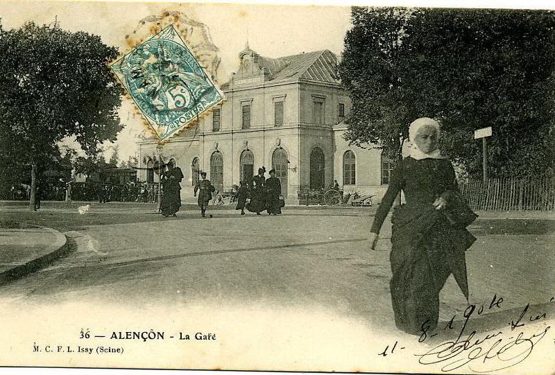 Zone 61 - Alençon - La Gare