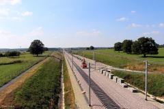 Fontenay sur Vègre - Le chantier de la LGV (Philippe Gondard)