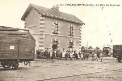 Foulletourte - La Gare des Tramways