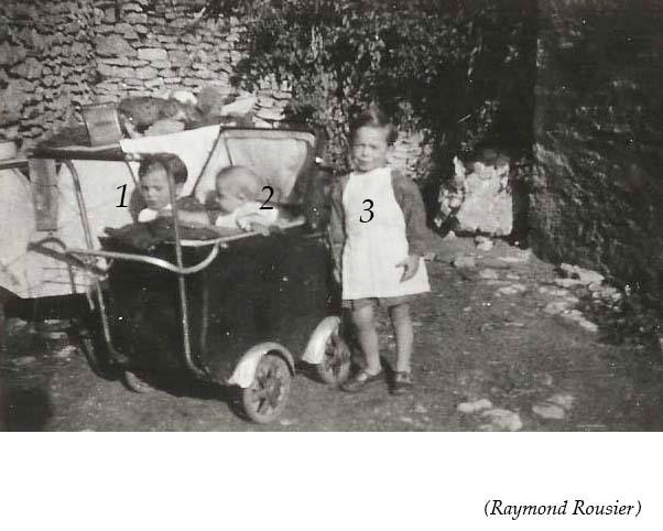 Groupes - Réunions de famille - Inconnus 02 (Raymond Rousier)