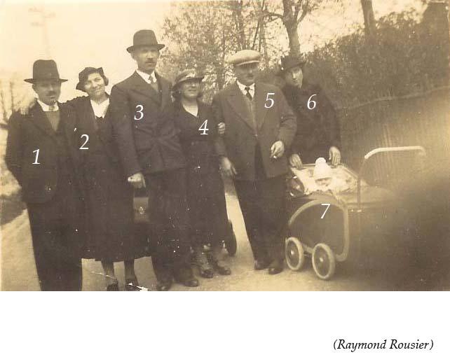 Groupes - Réunions de famille - Inconnus 04 (Raymond Rousier)