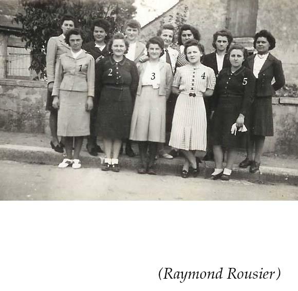 Groupes - Réunions de famille - Inconnus 06 (Raymond Rousier)