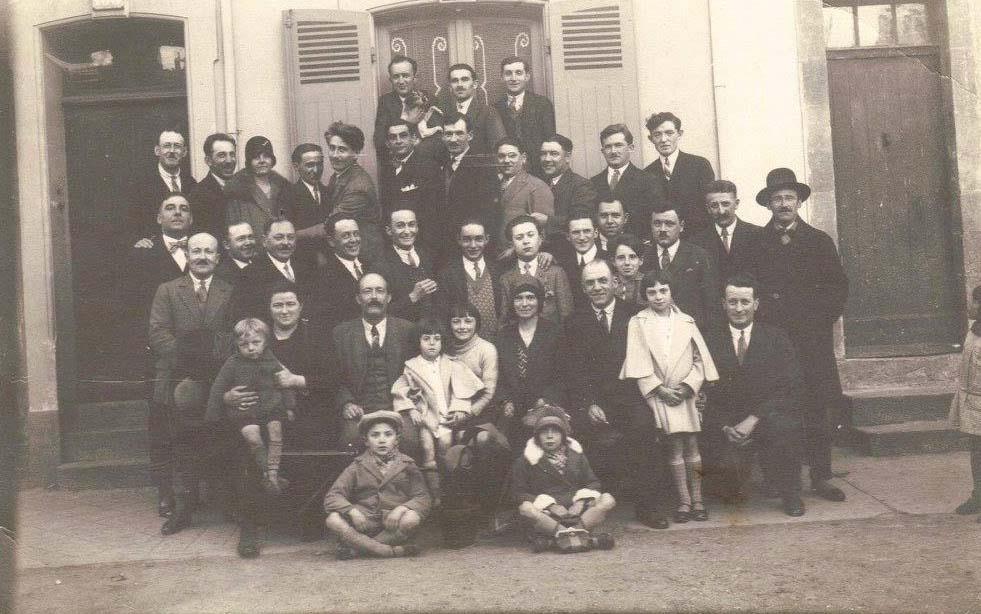 Le Mans - Groupes - Réunions de famille - Famille PIERCON - 1930 (Françoise Lebreton)