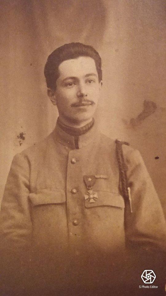 Militaires - Soldats - GAUTIER René, Sosthène - mon arrière grand père (Virginie Lefèvre)