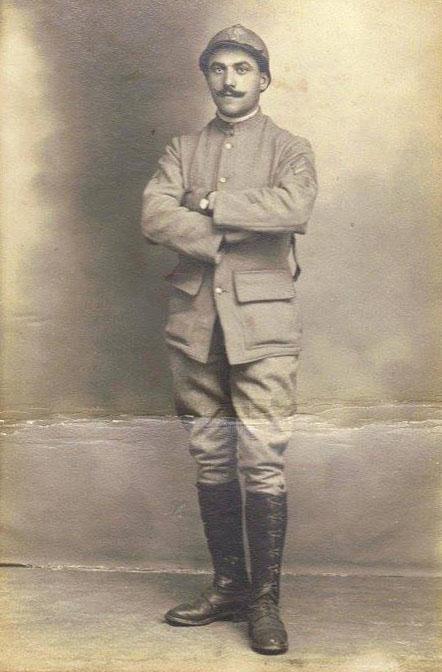 Militaires - Soldats - PIERCON Léon à vérifier - 1914 (Françoise Lebreton)