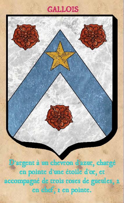 Armoiries et Blasons - Gallois de la Blinière - Saint Saturnin - Vue 02 (Bruno Simon)